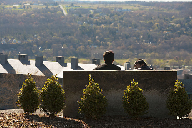 Ezra Magazine: Resting on wisdom: Campus benches