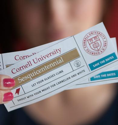 Sesquicentennial tickets