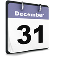 December 31 calendar page