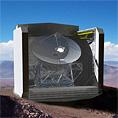 CCAT telescope rendering