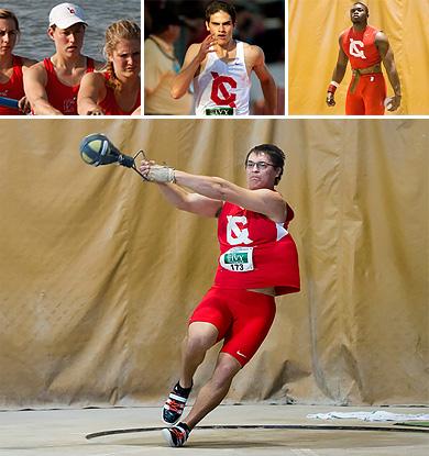 Cornellians headed to Olympics collage