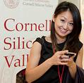 alumna at CSV event
