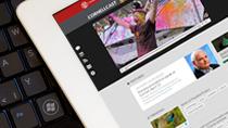 Redesigned CornellCast site