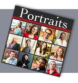 Partial screenshot of Cornell 'Portraits' site
