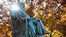 A.D. White statue