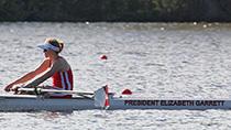 rowing shell named for President Garrett