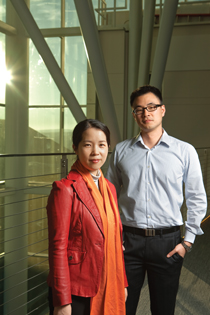 Assistant professors Eun-Ah Kim and Kyle Shen